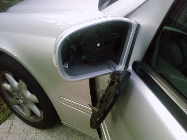 side mirror Upland